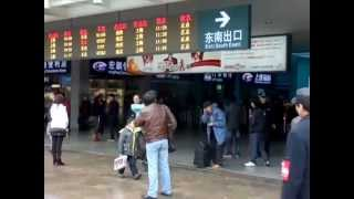preview picture of video 'Train from Beijing to Shanghai - comMON :)'