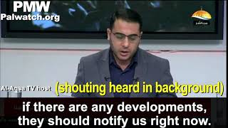 Final moments as Hamas TV receives Israel