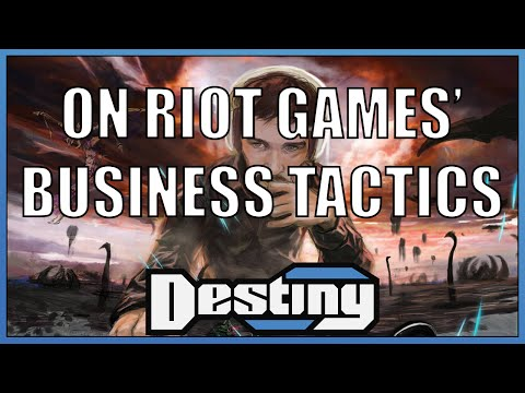 On Riot Games' business tactics