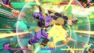 Isedelica DBFZ Ginyu/Gohan/Goku 155hit 100% Combo 即死コンボ
