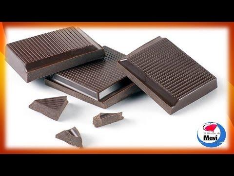 Beneficios y propiedades del chocolate negro o chocolate amargo para la salud