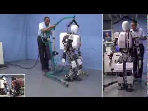 Real-time gait generation for humanoid robots. We proposed a two-stage gait pattern generation scheme for full-size humanoid robots that considers the dynamics of the whole system throughout the process.