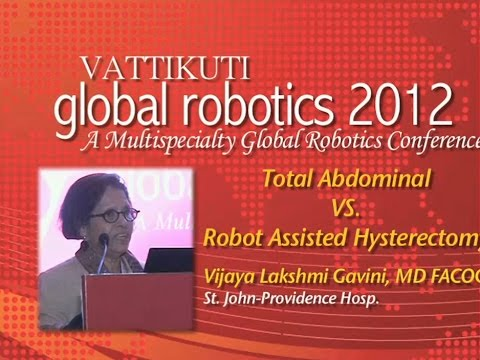 Total Abdominal vs Robot Asst Hysterectomy