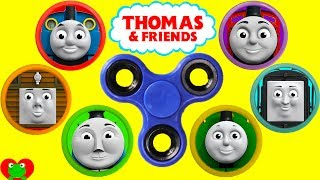 Thomas The Train Fidget Spinner Play Doh Surprises Best Learn Colors For Preschool