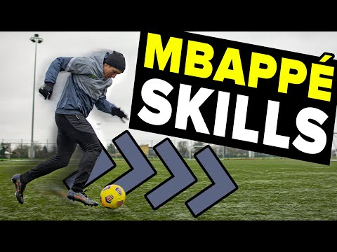3 SIMPLE but VERY EFFECTIVE SKILLS to learn from Kylian Mbappé