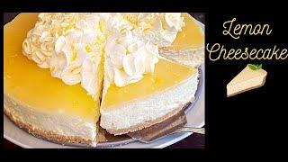 no bake lemon cheesecake with gelatin