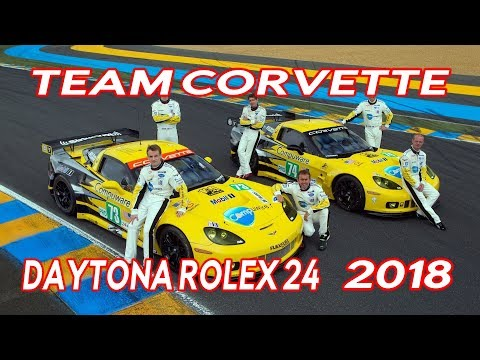 Antonio Garcia, Spanish Professional Racing Driver Team Corvette Rolex 24 2018