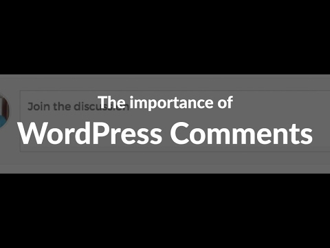 Episode 047: Why WordPress Comments still matter Podcast