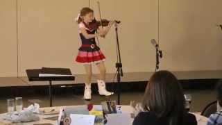 Hazel Keithahn (age 9)- Millionaire's Hoedown Violin with Dance