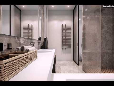 Luxus Badezimmer Mit Nat Rlichen Thema