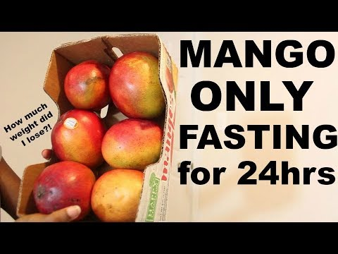 What Mango ONLY Fasting for 1 DAY did to my BODY