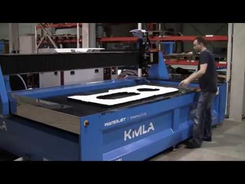 Kimla StreamCut 3 Axis CNC Waterjet