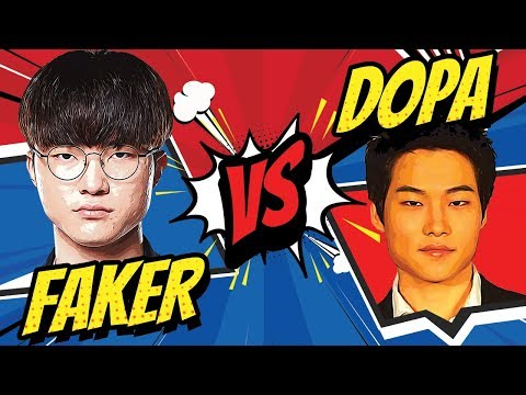FAKER vs DOPA BEST OF 3 - Who Wins? | Skill Capped