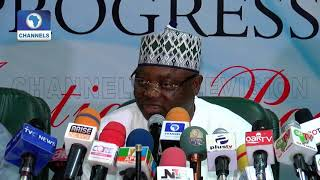 Full Speech: Why We Chose Ahmed Lawan For Senate President - APC