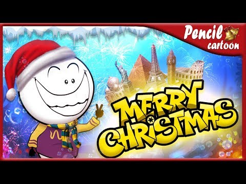 Merry Christmas 2019 ~ Pencil Cartoons #171