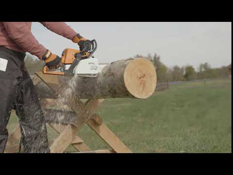 Stihl MS 362 C-M in Ennis, Texas - Video 1