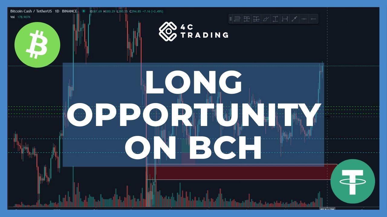 Long opportunity on BCH #crypto #bitcoin #usdt #4ctrading
