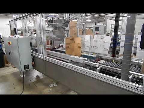 Selladora de cajas Random RS3000 SB para cajas angostas