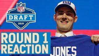 2019 NFL Draft Round 1 Reaction & Analysis: Jones to Giants, Haskins to Washington & More