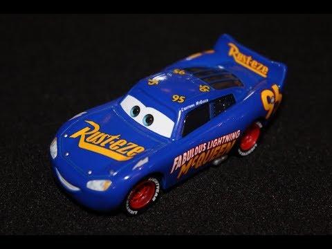 Mattel Disney Cars 3 Fabulous Lightning McQueen (Doc Hudson Blue Paint Job) Die-cast