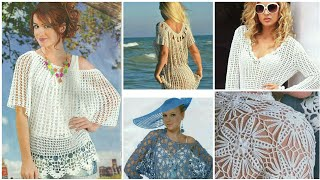 Trendy Fashion Designer Crochet Leaves Pattern Chunky Vest Top/boho Fashion Crochet Loose Beggie