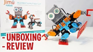 Unboxing BUZZBOT & MUTTBOT KIT from UBTECH JIMU ROBOT TOYS (FULL REVIEW)
