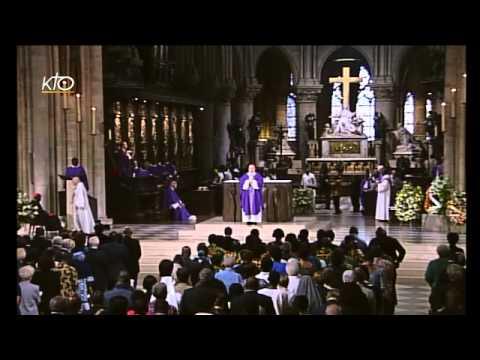 Messe à l'intention du cardinal Agré