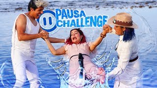 PAUSE CHALLENGE ON BEACH | THE POLYNESIANS CHALLENGE