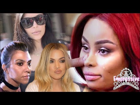 The Kardashians are trying to end Blac Chyna! (She's blackballed?)