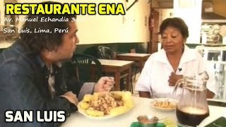 preview picture of video 'Restaurant Ena - San Luis, Lima, Perú'