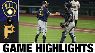 Braun And Sogard Lead The Comeback In The Brewers 6-5 Win   Brewers-Pirates Game Highlights 7/27/20