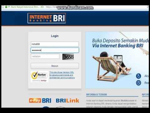 Cara Ganti Pin Internet Banking Bri