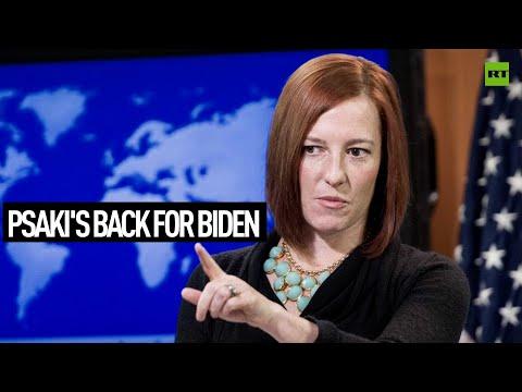 Psaki's back for Biden