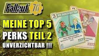 Top 5 Perks Teil 2   Austeilen und Einstecken   Fallout 76
