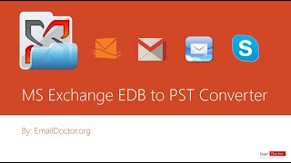 Microsoft Exchange Database EDB to PST Converter