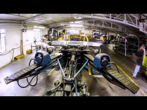 Time Lapse Inside the Airstream Factory