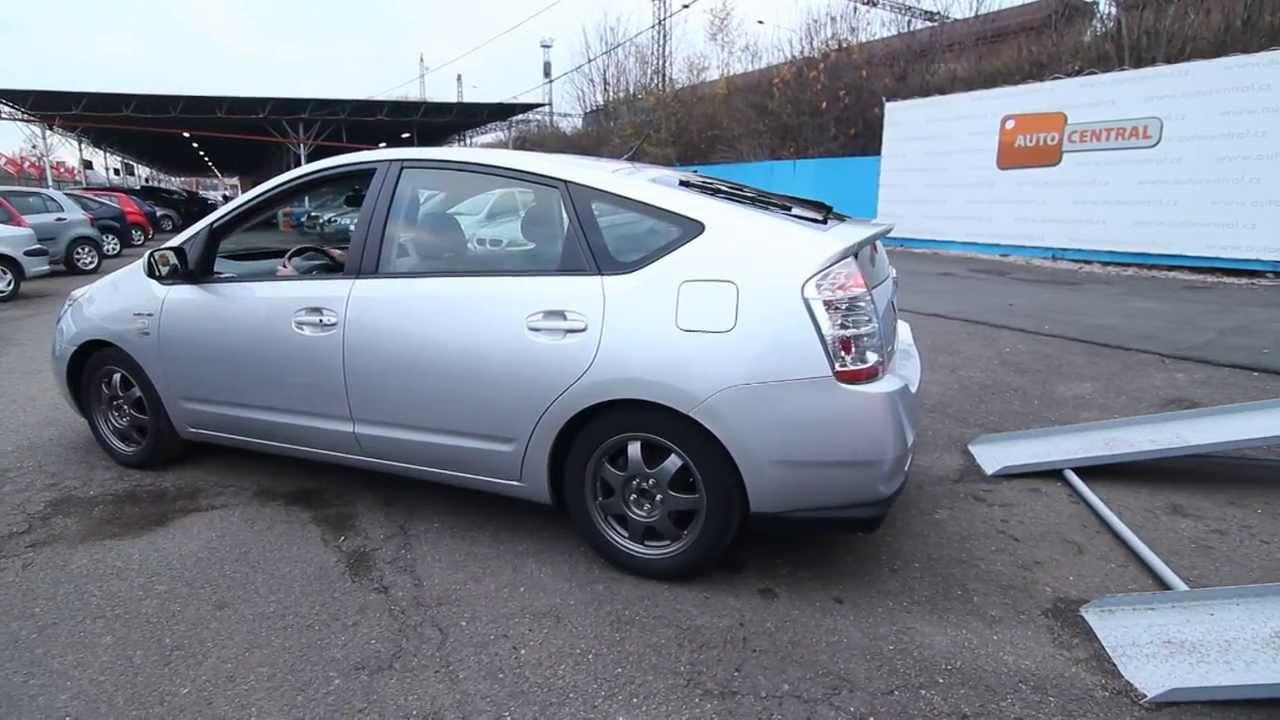 Prius 1.5VVTi hybrid 57kW+50kW rok 2007