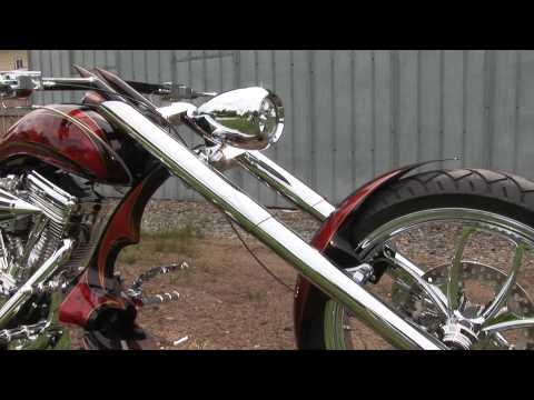 "Chopper Motorcycle ""No Name"" Rat Shop – CRANK IT UP"