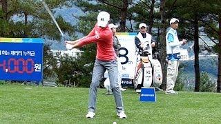 [Slow HD] LEE Jung-Min 2013 Driver Golf Swing (1)_KLPGA Tour