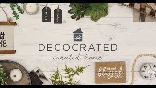 Unboxing The FALL Decocrated Home Decor Box!