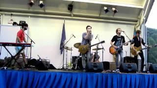 """The Damnwells - """"She Goes Around"""" - Braddock Nights Fairfax, VA - 07/08/11"""