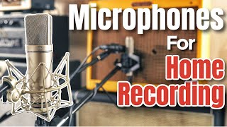 How To Record Guitar   Microphones For Guitar Players