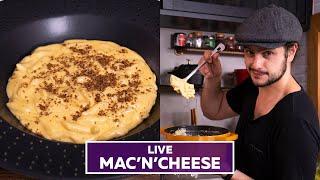 MACNCHEESE Ou MACARRÃO COM QUEIJO | Receitas Rápidas Em 15 Minutos | #LIVEMOHINDI