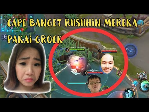 GROCK BETINA VS TOP PLAYER MPL! GILA KEREN EPIC COMEBACK!