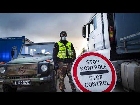 Η επιστροφή των συνοριακών ελέγχων μεταξύ των χωρών της ζώνης Σένγκεν…