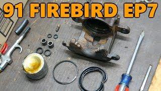 1991 Firebird DIY Brake Caliper Rebuild and Bench Testing (Ep.7)