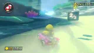 Dolphin Shoals - 1:59.968 by CB♪ Kαzυσ (Mario Kart 8 World Record)