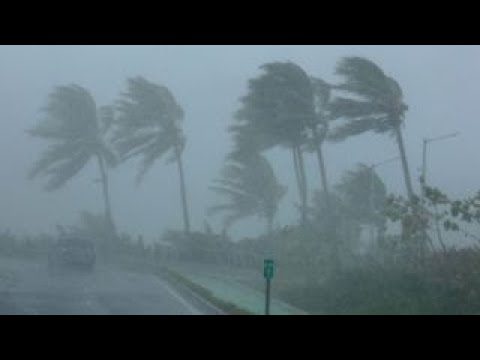 Hurricane Irma rips through Caribbean islands