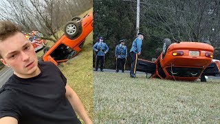 The SCARIEST Day Of My Life (Totaled Car Accident)