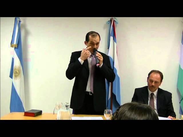 El mensaje del Presidente del nuevo Concejo, Luis Pérez